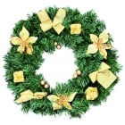 Gold Parcels Wreath
