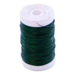 Green Lacquered Reel Wire