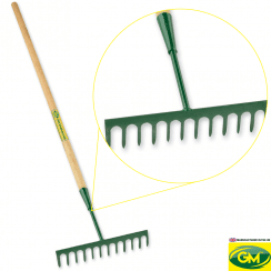 12 Teeth Soil Rake