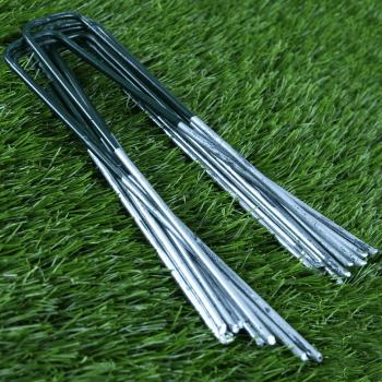 GroundMaster Artificial Grass Staple U-Pins 10 Pack
