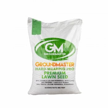 GroundMaster Hard-Wearing Lawn Grass Seed