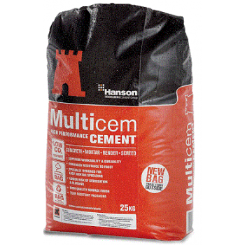 Hanson Multicem Cement Waterproof Bag