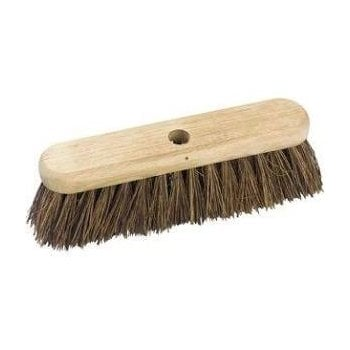 "Hill Brush Company 12"" Medium Sweeping Broom"