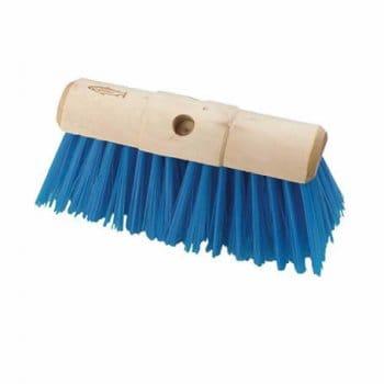 "Hill Brush Company 13"" PVC Scavenger Yard Broom"