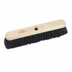 Soft Black Coco Platform Yard Broom
