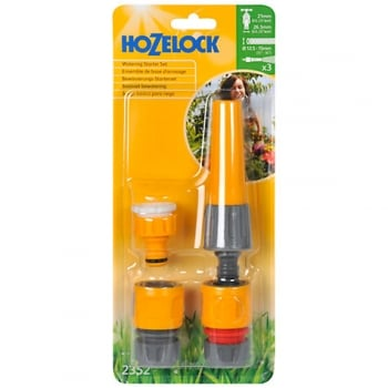 Hozelock Nozzle & Fittings Starter Set