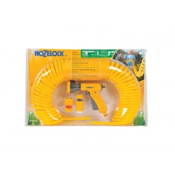 Hozelock Spiral Hose (Yellow) 15m
