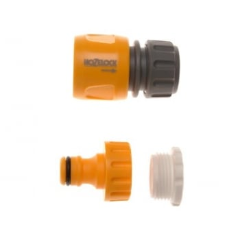Hozelock Threaded Tap Connector Twin Pack