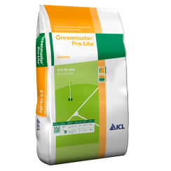 Greenmaster Pro-Lite Autumn 6-5-10+6Fe Fertiliser 25kg