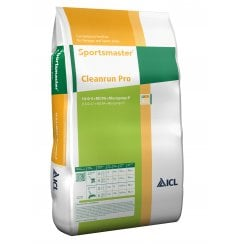 Sportsmaster Cleanrun Pro Feed & Weed Fertiliser 14-0-5 25kg