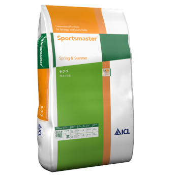 ICL Sportsmaster Spring & Summer 9-7-7 Fertiliser 25kg