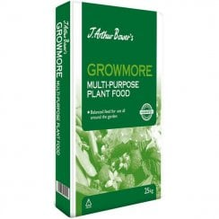 J. Arthur Bower's Growmore Fertiliser 25kg