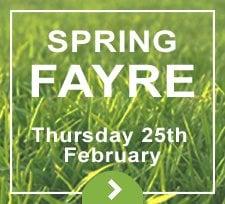 Spring Fayre 2016