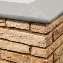Bullnose Sandstone Paving Copings: Promenade 600 x 300mm