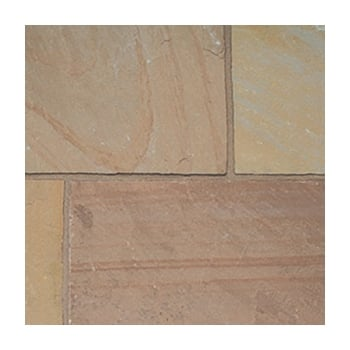 Natural Paving Classicstone 24mm Calibrated Sandstone: Autumn Brown Project Pack