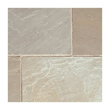 Natural Paving Classicstone 24mm Calibrated Sandstone: Lakeland 600 x 600mm