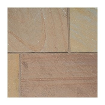 Natural Paving Classicstone 24mm Calibrated Sandstone Paving: Autumn Brown Project Pack