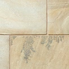 Classicstone 24mm Calibrated Sandstone Paving: Golden Fossil 600 x 600mm