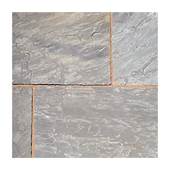 Natural Paving Classicstone 24mm Calibrated Sandstone Paving: Graphite Project Pack