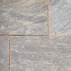 Classicstone 24mm Calibrated Sandstone Paving: Graphite Project Pack
