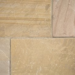 Classicstone 24mm Calibrated Sandstone Paving: Harvest 600 x 600mm