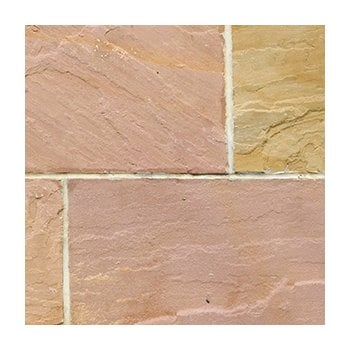 Natural Paving Classicstone 24mm Calibrated Sandstone Paving: Heather Project Pack