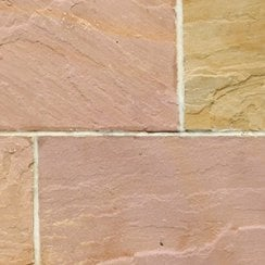 Classicstone 24mm Calibrated Sandstone Paving: Heather Project Pack