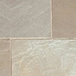 Classicstone 24mm Calibrated Sandstone Paving: Lakeland 290 x 290mm