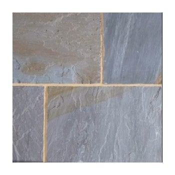 Natural Paving Classicstone 24mm Calibrated Sandstone Paving: Yorkshire Blend Project Pack