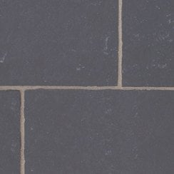 Classicstone Limestone Paving 20-30mm: Carbon Black 600 x 600