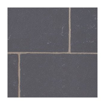 Natural Paving Classicstone Limestone Paving 20-30mm: Carbon Black 600 x 900