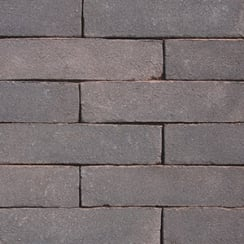 Clay Block Paving: Anthracite 215 x 52mm