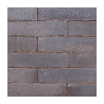 Natural Paving Clay Block Paving: Graphite 215 x 52mm
