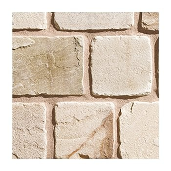Natural Paving Cobblestone Weathered Cobbles 25-50mm: Calico Mixed Pack
