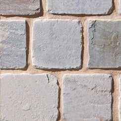 Cobblestone Weathered Cobbles 25-50mm: Pewter 100 x 100mm