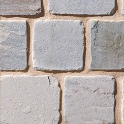 Cobblestone Weathered Cobbles 25-50mm: Pewter Mixed Pack