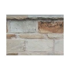 Cottagestone Walling 50-75mm: Golden Fossil Mixed 220 x 100mm