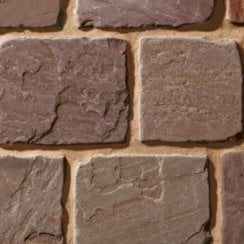European Cobbles: Chocolate 100 x 100 x 70-90mm