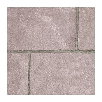 Natural Paving Fossestone 50mm Block Paving: Burnt Magenta 250 x 150mm