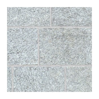 Natural Paving Fossestone 50mm Block Paving: Granite - Birch 150 x 150mm