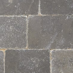 Fossestone 50mm Block Paving Limestone: Midnight Blue 250 x 150mm