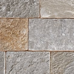 Fossestone 50mm Block Paving: Rustic Quartz 250 x 150mm