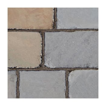 Natural Paving Fossestone 50mm Block Paving: York Mix 250 x 150mm