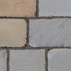 Fossestone 50mm Sandstone Block Paving: York Mix 200 x 150mm