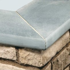 Limestone Calibrated Copings: Steel Blue 300 x 300mm