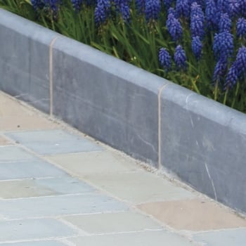 Natural Paving Midnight Blue Roundtop Edging