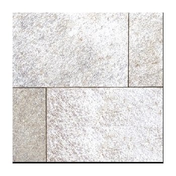 Natural Paving Premiastone 20mm Flamed Granite Paving: Silver Ash 600 x 900mm