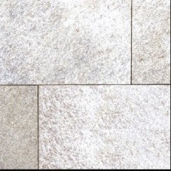 Premiastone 20mm Flamed Granite Paving: Silver Ash 600 x 900mm