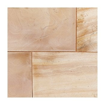 Natural Paving Premiastone 20mm Honed Sandstone Paving: Maple 600 x 900mm