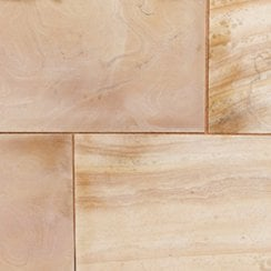 Premiastone 20mm Honed Sandstone Paving: Maple Project Pack